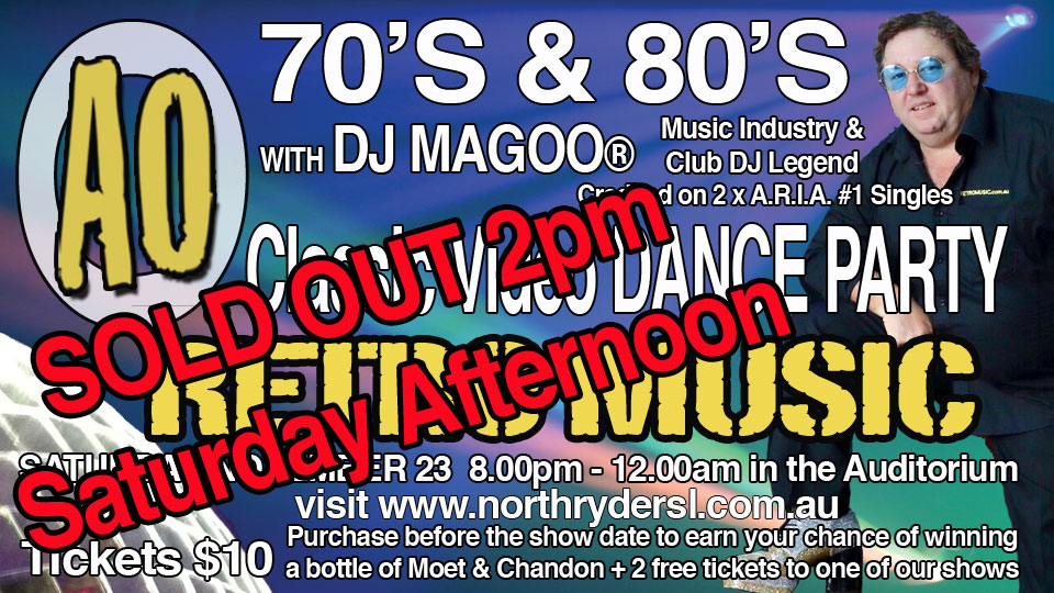 DJ MAGOO Sold Out North Ryde RSL Sydney