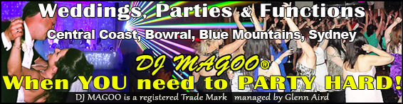 DJ MAGOO Party Hire and Entertainment Services your Wedding DJ Specialist