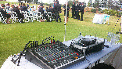 DJ MAGOO Outside PA Wedding Ceremony