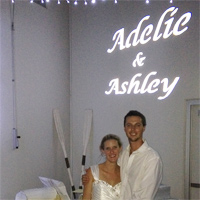 DJ Magoo Wedding Lights Adelie Ashley