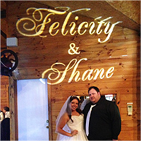 Felicity Shane Name in Lights