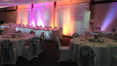 Bridal Table Lighting Sydney Orange Pink Wedding Lights IMG6046TwinsyesE400