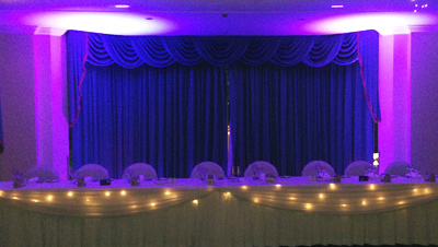 Bridal Table Lights Sydney Purple 3714