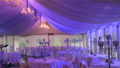 Wedding Lights Castle Hill Blue Wedding Room Lighting IMG 1621yesE400