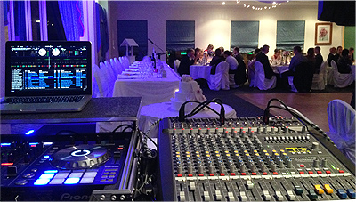Wedding Lights Dural Blue Room Lighting MM DJ System 1