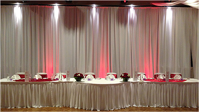 Wedding Lights Dural Red Bridal Table Wedding room lighting 6460