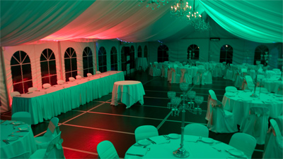 Wedding Lights Penrith Blue Red Wedding Room Lighting IMG 1726yesE400