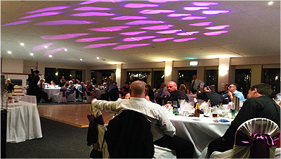 Wedding Lights Penrith Purple Hearts Room Alicia room1
