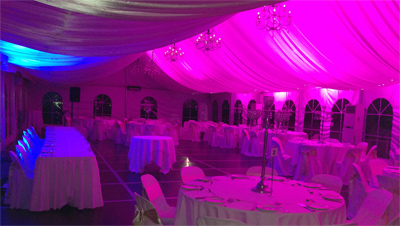 Wedding Lights Sydney Pink Blue Wedding room lighting 2984yesE400