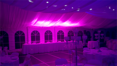 Wedding Lights Sydney Purple Wedding Room Lighting IMG 1775yesE400