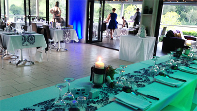 Wedding Lights Sydney lime Blue room lighting 3442