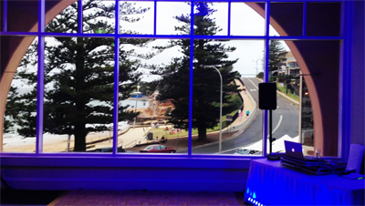 Wedding Lights Terrigal Central Coast Blue Wedding Room Lighting 1887E400